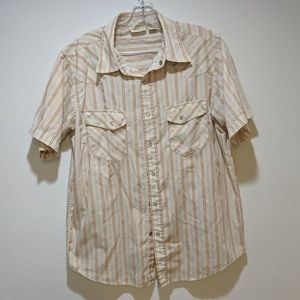 BKE Pearl Snap Short Sleeve Men's Shirt